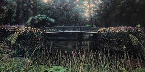 Norska konstnären Henrik Kleppe Worm-Müller  inspireras mycket av impressionismen.