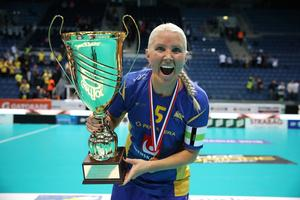 Wijk har vunnit fem VM-guld i sin karriär och har i år chans på ett sjätte. På bild det senaste från 2017. Foto: Per Wiklund/BILDBYRÅN.