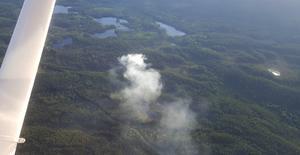 Ett normalt år upptäcker brandflyget drygt 100 bränder där vi kan förkorta släckningstiden avsevärt, skriver signaturen LG.Foto: Arkivbild