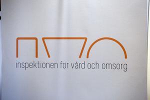 IVO, Inspektionen för vård och omsorg kallade mannen till samtal 2014. Fotograf: Claes Söderberg/Arkiv
