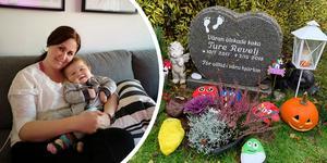 Hennes son dog 17 månader gammal. Nu har Emelie Revelj och vännen Alexandra Brandin startat podden