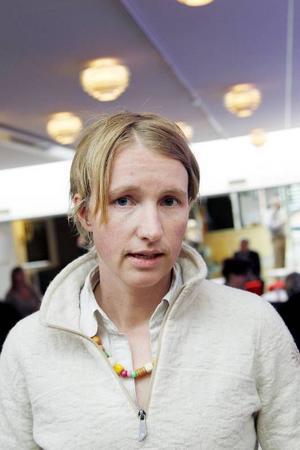 Christina Hedin toppar Vänsterpartiets lista inför valet till kommunfullmäktige i Östersund.
