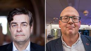Pär Jönsson (m) och Bosse Svensson (c) Foto: Linda Hedenljung/Lars Ljungmark