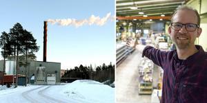 14 miljoner kronor räknar Absolicons vd Joakim Byström med att en pilotanläggning för solvärmd fjärrvärme i Ådalen ska kosta. Arkivfoto.