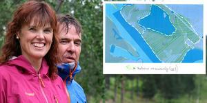 Mid Adventures Gunilla och Dan Thornberg har presenterat ett nytt förslag för att lösa markfrågan vid Backetjärn.
