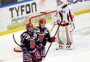 Lucas Carlsson kom till SSK från Huddinges juniorer – och tog sig in i A-truppen hösten 2013.