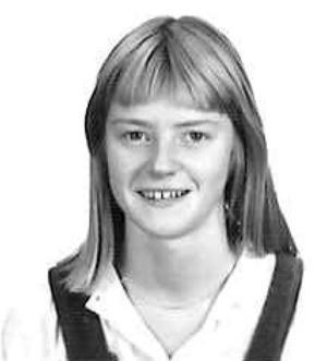 Karin Wistrand, klass 2G, Karolinska skolan läsåret 1978/79.