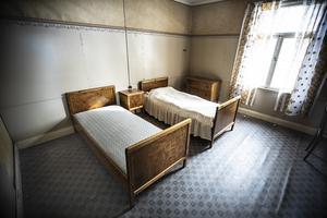 Ett sovrum för resande försäljare.