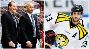 Janne Larsson och Tommy Sjödin får gå. Här ger Ryan Gunderson sin syn på det. Bilder: Bildbyrån
