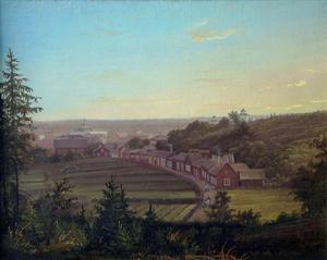 Blombergssons tavla visar samma utsikt för över 150 år sedan.