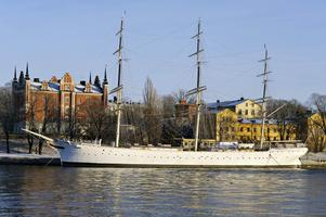Skeppet af Chapman i Stockholm.  Foto Hasse Holmberg/Scanpix .