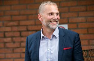 Nya kommunalrådet Stefan Dalin (S).