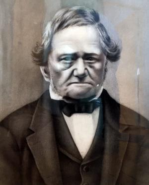 Carl Herdin levde 1792-1864. Guldsmeden som kom till Falun och öppnade verkstad 1820.