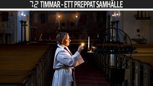 Kontraktsprosten Marie Edström tror att om det verkligen skulle bränna till i samhället kommer människor att hjälpa varandra. Bild: Leif Wikberg/Arkiv
