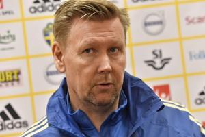 Assisterande tränare i landslaget, Peter Wettergren. Bild: TT.