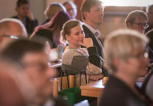 Camilla Andersson Sparring (C), i Faluns kommunfullmäktige. Foto: Lina Hård/Arkiv