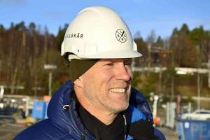 Lillskärs vd Tore Berglund är nöjd med nystarten för projektet.