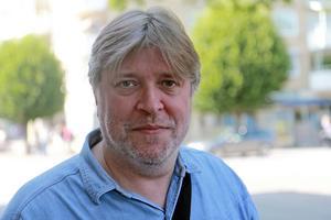Bernt Månsson är Miljöpartiets gruppledare i kommunfullmäktige och språkrör. Foto: Andreas Lillhannus
