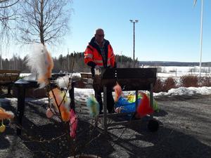 Just här är det Bengt - Ove som gräddar.