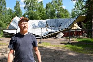 Joel Gustafsson är ordförande i Kulturföreningen Strandbackens folkpark.