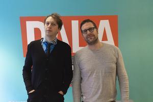 Pelle Andersson och Daniel Olsson på Dalapop.