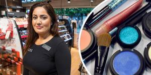 På Kicks i Södertälje tar butiken emot kundernas kosmetikavfall. Foto: Stefan Lindström, Claudio Bresciani/SCANPIX
