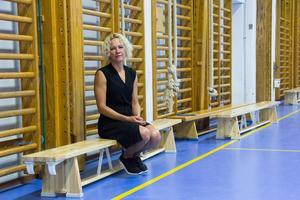 – Det är idrotten man inte orkar med fullt ut om man inte äter lunch, säger Anna-Karin Engström.