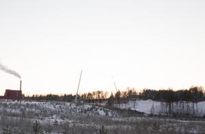 Företaget EcoDC har köpt 40000 kvadratmeter mark på Ingarvet. Om satsningen blir lyckad kan det bli ett köp på ytterligare 40000 kvadratmeter. Nybygget syns redan från Hanröleden.