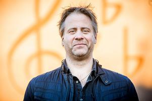 Producenten Pelle Larsson har satt Bollnäs kulturhus  på den musikaliska kartan. Bild: Henrik Nyblad /Arkivbild