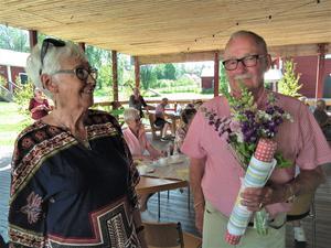 Eva Engblom och Everth Lundin, de två senaste ordföranden i SPRF Orren