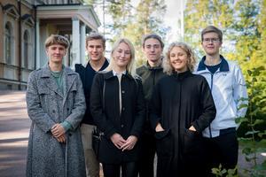 Ljungbergs-stipendiater från Falun. Foto: Catharina Johnson