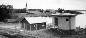 Reningsverket i Föllinge. Okänt årtal.