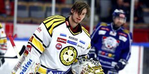 Blir det spel i Europa eller Nordamerika för Eddie? SHL-debuten kom i alla fall i Brynäs. Foto: SCANPIX