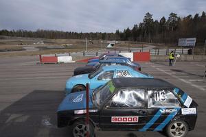 Blick över startplattan i Västerås, på en tävling där det var lite somrigare än vad det är nu. Bild: Janne Cermenius
