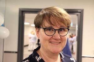 Helena Ribacke, är fastighetsdirektör vid Region Gävleborg som vill riva det gamla gravkapellet på sjukhusområdet i Hudiksvall.