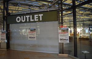 Skoförsäljningen i den här butiken har upphört.