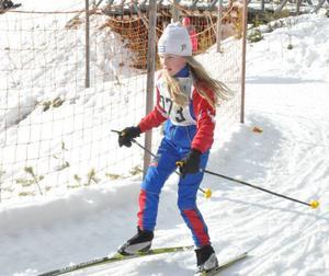 Skidglädjen var stor och många barn var rejält laddade efter landets OS-framgångar.