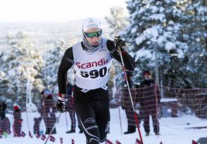 Max Novak, Offerdals SK, får som ende junior chansen att åka världscupen i Stockholm.