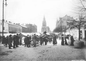 Från 1912 års upplaga av Hindersmässan. (Bild. Örebro stadsarkiv)