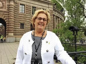 Lena Asplund, (M), i Sollefteå, sätter säkerheten före miljön. Därför bytte  hon 2017 till en bil som är betydligt sämre  för miljön än hennes tidigare bil.