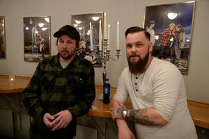 Kim Dahlberg och Björn Åslund har lyssnat på Ken Ring i många år.