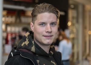 Andreas Bengtsson, 28, restaurangmanager, Sundsvall