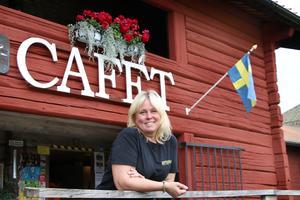 Anna-Lena Danielsson har alltid haft en dröm om ett kafé och sedan några år tillbaka driver hon Loftcafét i Kopparberg.