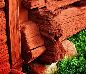 Falurött - en symbol för företagsamhet och småskalighet. Foto: Claes Söderberg