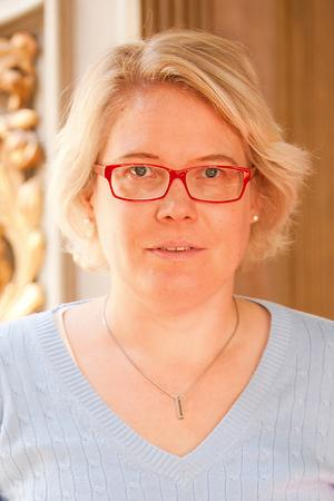 Jenny Edberg, ordförande i Öppna Moderater Dalarna.