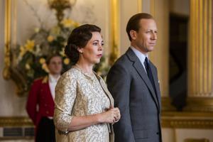 Olivia Colman som drottning Elisabeth II. Bild: Netflix