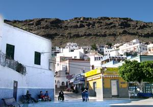 Puerto Mogan på Gran Canaria.