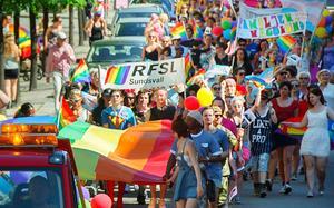 RFSL får minskat stöd av Ånge kommun.Foto: Evelina Ytterbom