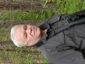 Lars-Gunnar Klang är vice ordförande i Södertälje ornitologiska förening, han har fågelskådat sedan 1975.