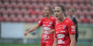 Maja Regnås spelade under årets säsong 21 matcher och noterades för tre mål.